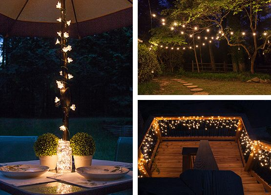 A collection of our favorite patio lighting ideas projects include string lights for small spaces