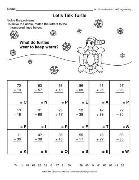 let 39 s talk turtle the mailbox pinterest turtle math and worksheets. Black Bedroom Furniture Sets. Home Design Ideas
