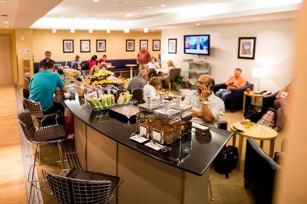 How To Fly To Japan For 100 Round Trip In Business Class British Airways Terraces Lounge At OHare International Airport In Chicago
