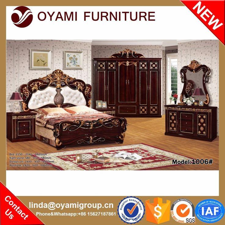 2016 Best Price Hot Sale Dubai Bedroom Furniture