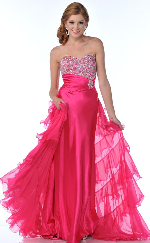 22 best vestidos de gala images on Pinterest | Ball dresses, Gown ...
