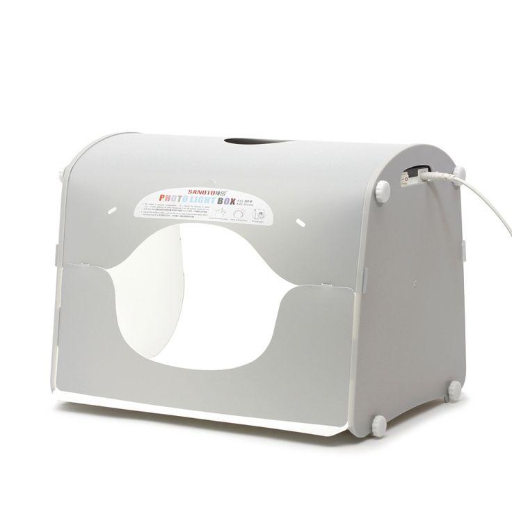 DHL shipping SANOTO softbox photo studio photography light box portable mini photo box MK40-LED for 220/110V EU US UK AU