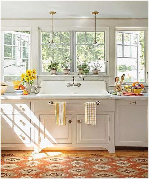 sunny yellow and white country kitchen kitchen pinterest rh pinterest com