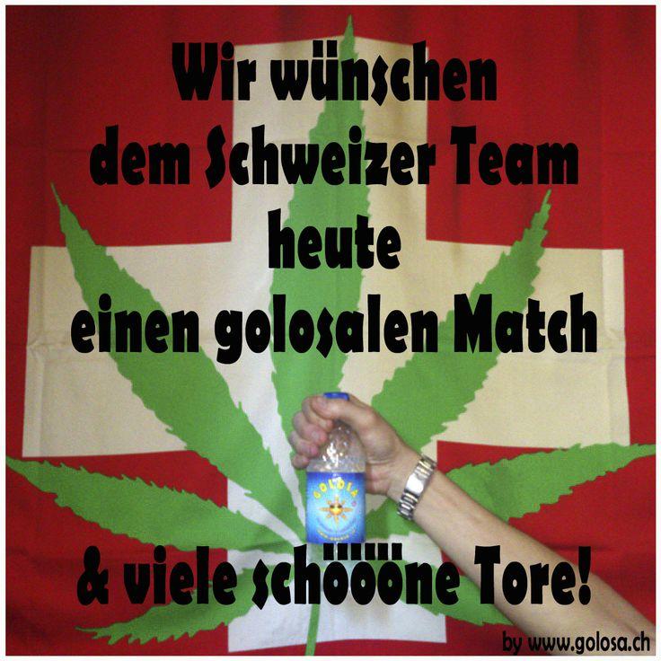 Toi Toi Toi für das heutige Achtelfinale, Schweizer Team.#wm2014