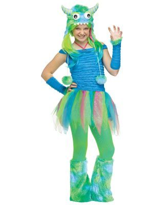 teen girl halloween costumes 2013 | Blue Beastie Teen Halloween Costume - Girls Costumes