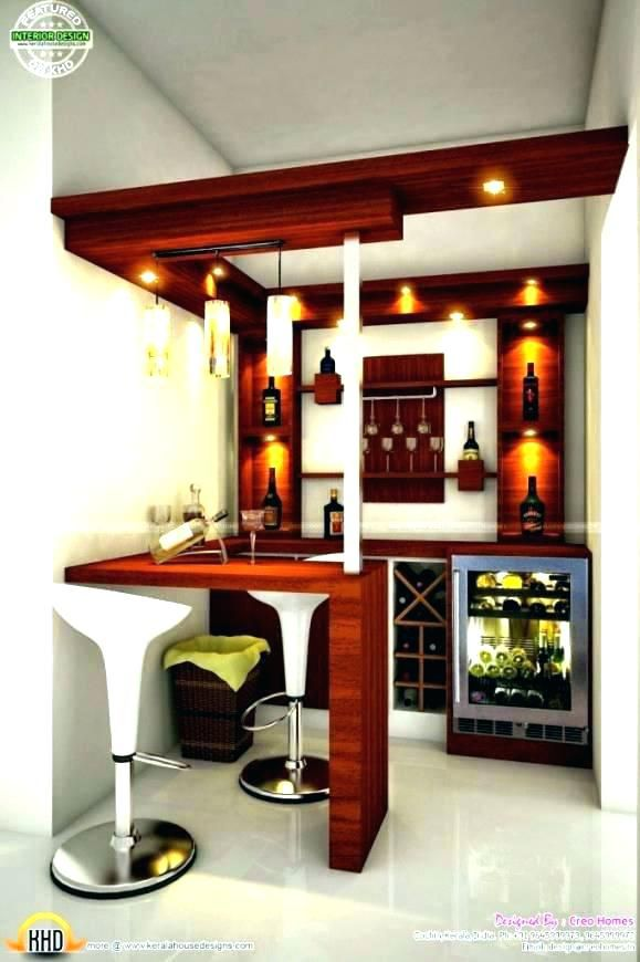 30 Stylish Contemporary Home Bar Design Ideas: Bar Counter Design, Bars For Home, Home Bar