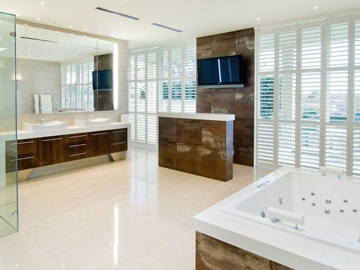 Photo On This gorgeous award winning master bathroom has cleverly hidden toilets Do you think you