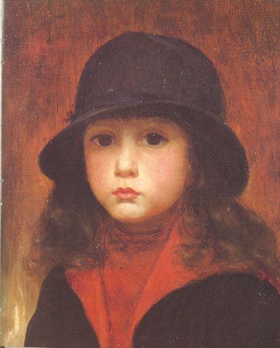 MI HIJO RAFAEL, 1899 Óleo sobre Tela 46 x 34 cm Museo Nacional de Bellas Artes