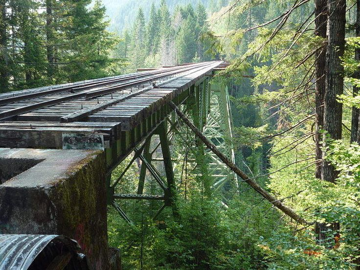 The Most Insane Abandoned Places in Washington    Vance Creek Bridge Shelton, WA
