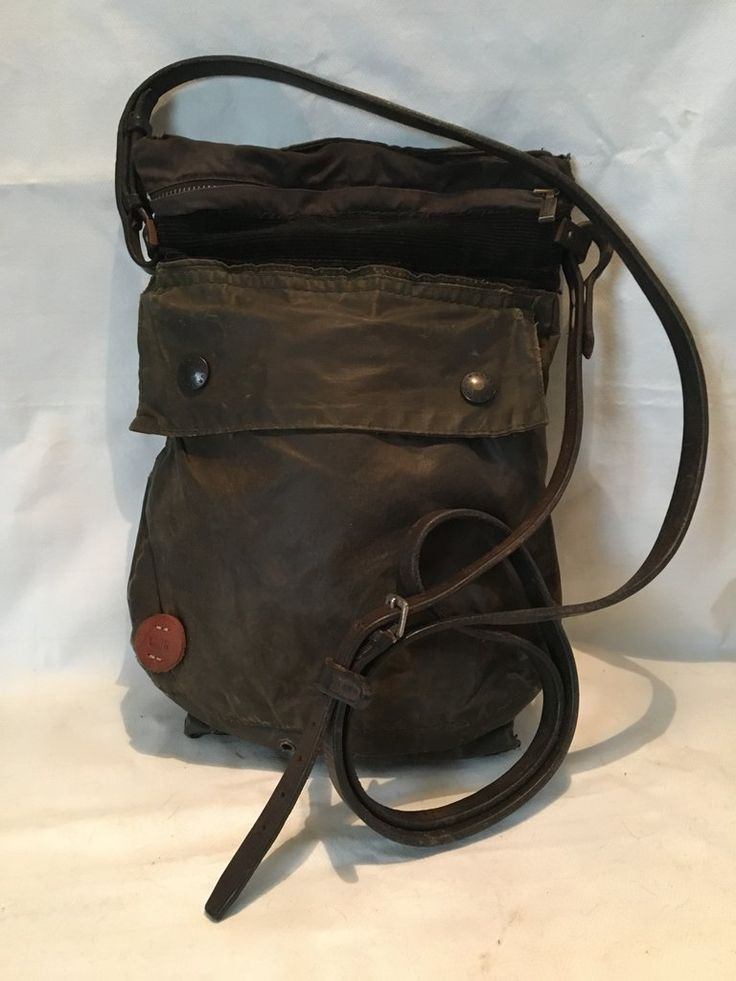 Vintage Rogues Hand Grafted VR Barbour Bag.