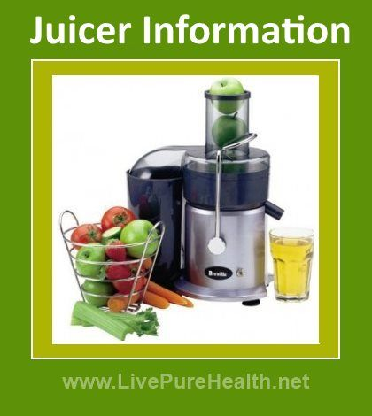 Juicer Information: When looking into juice machines there is a whole heap of confusion about what is the best juicer to buy. Different types of juicers