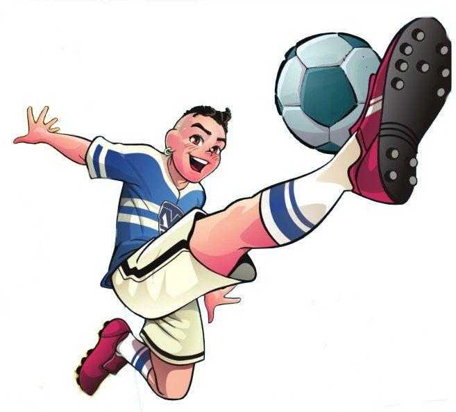 Cascão Futebol Bola