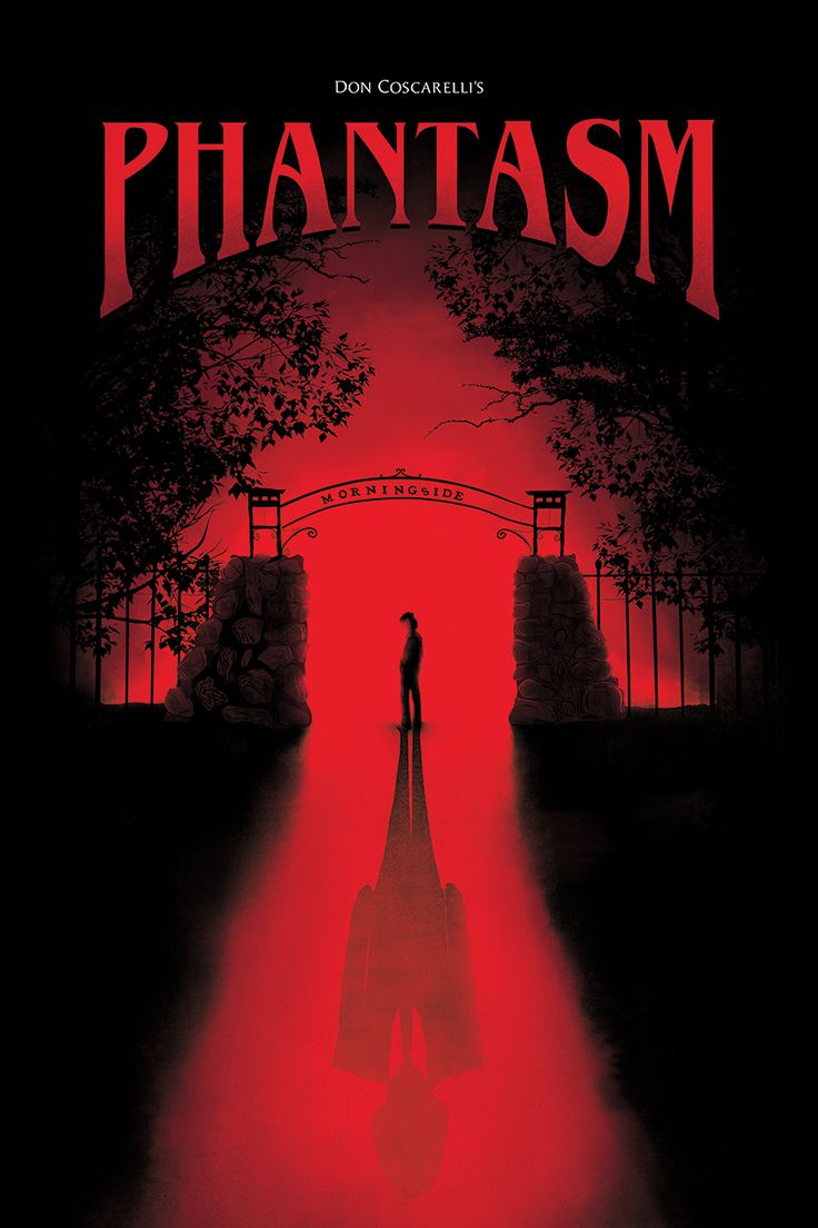 Phantasm (1979) poster by David O'Brien. Look past the strangeness and you'll find a deeper meaning.