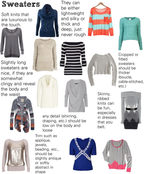 """Soft Natural (SN) - Sweaters"" by lightspring on Polyvore"