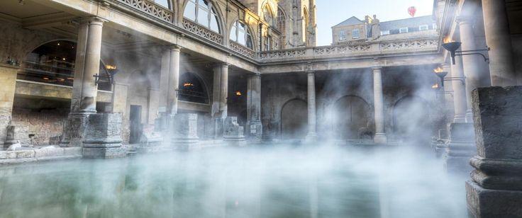 The Great Bath Roman Baths Baths, England