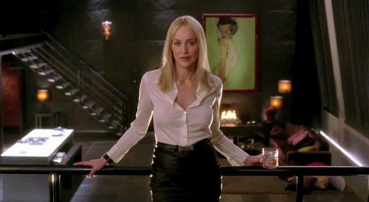 Sharon Stone As Catherine Tramell Youtube Fabulous