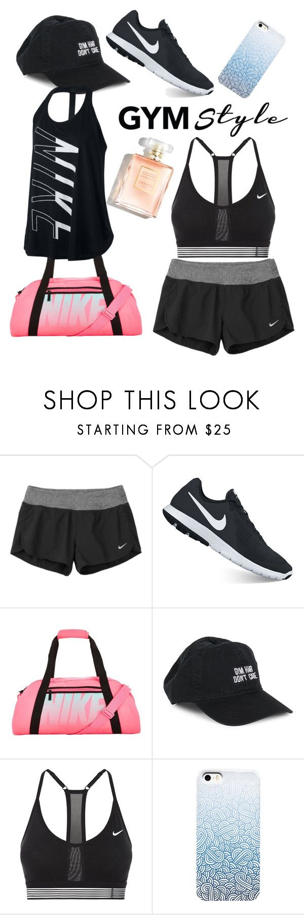 """Untitled #107"" by alexanutella on Polyvore featuring NIKE and Body Rags"
