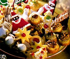 recettes de biscuits de noel en Allemagne. Gastronomie, recettes de cuisine et traditions en Europe. Information et Tourisme Européen.