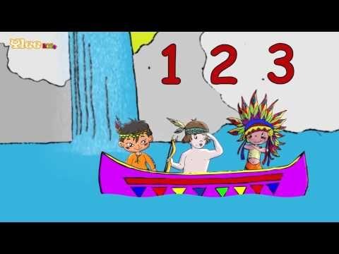 10 kleine Indianer -10 piccoli indiani - Zweisprachiges Kinderlied - Yleekids - YouTube
