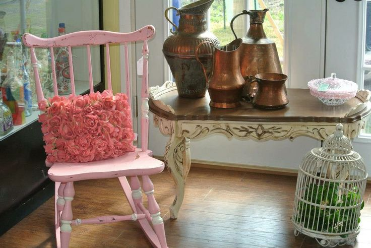Pink Shabby Chic Youth Rocking Chair For the Home Pinterest Pink, Rocking chairs and ...