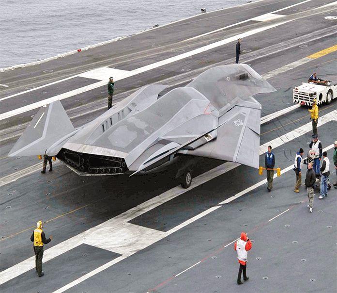 Future Secret Military Aircraft