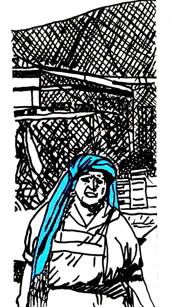 Mujeres de Tlacolula con tocados y rebozos (3)
