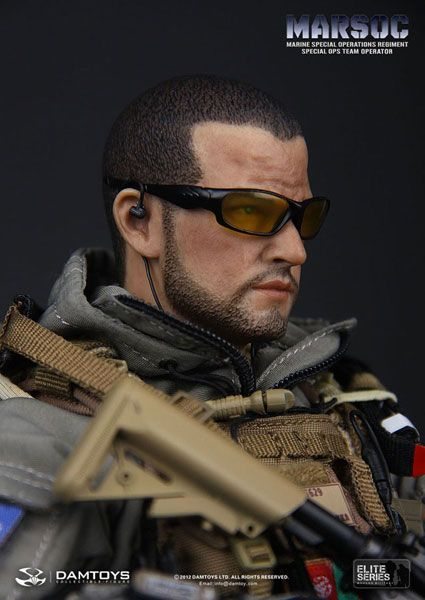 Dam Toy Elite Series 1/6 US Marine Corps Special Operations Command MARSOC Special Ops Team Operator(Released)