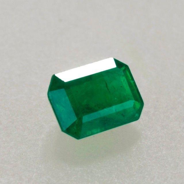 1.00ct Emerald Cut Zambian Emerald gemstones