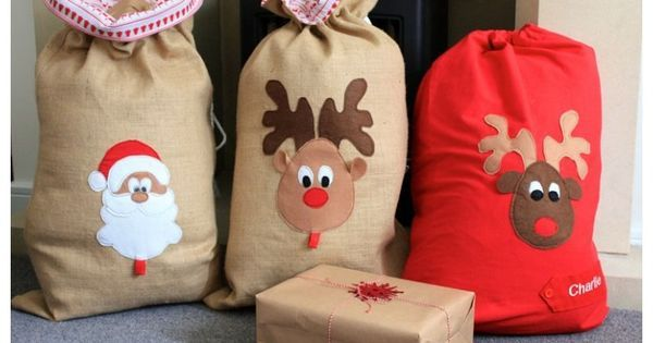 Personalised Santa Sack | Christmas with Kids | Pinterest ...