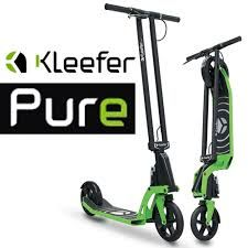 Only the best adult kick scooter on the planet. Kleefer Pure.