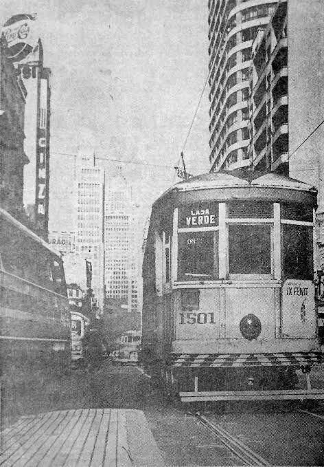 bondes da Avenida São João // Blog do Ralph Giesbrecht: A SÃO PAULO DE 1966 (CINQUENTA ANOS ATRÁS)