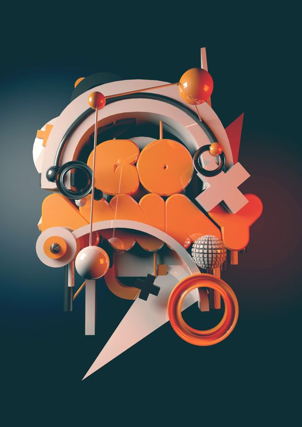 Go Away by Prateek Vatash, via Behance
