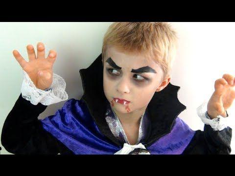 Tuto Halloween : Comment maquiller facilement son enfant en Dracula ?