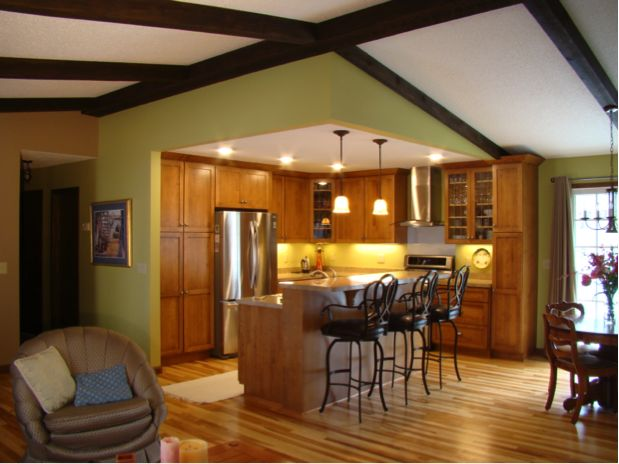 25 best ideas about ranch kitchen remodel on pinterest for Split level ranch remodel