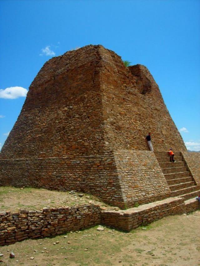 La Quemada, Zacatecas, MX.  Great childhood memories here.  Hiking up the ruins…