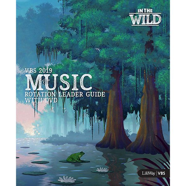 Music Rotation Leader Guide With Dvd - In The Wild VBS by