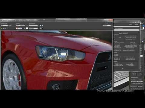 Using Iray with 3D Studio Max 2013