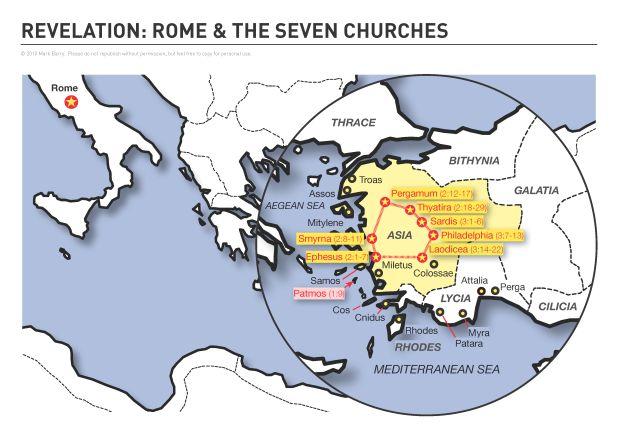 Revelation: 7 Churches & Rome Empire