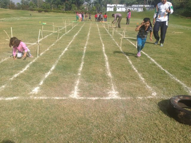 Obstacle game by LKG #GGIS #RepublicDay #SportsDay