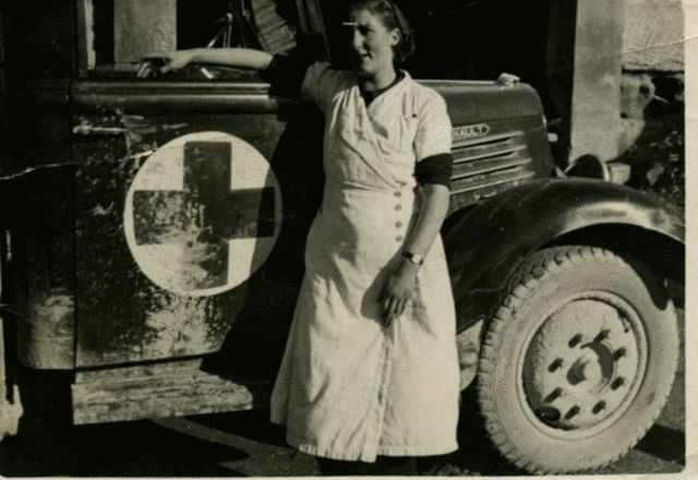 Spain - 1936-39. - GC - Volunteer Nurse, Aragon Front