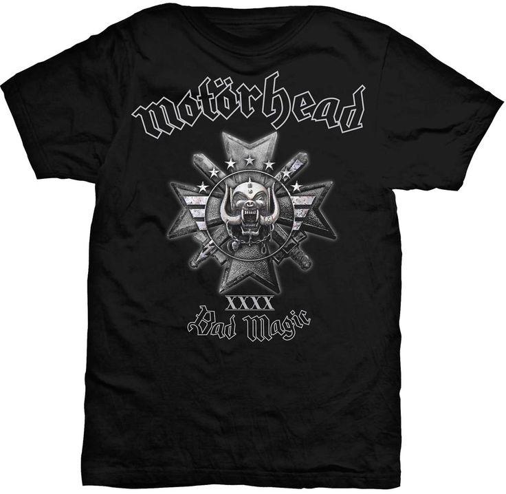 Camiseta de Motörhead Bad Magic #motorhead #lemmy #rock #heavymetal #xtremonline #heavy #t-shirt