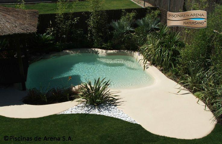 Las piscinas de arena se integran en cualquier tipo de for Piscinas de arena