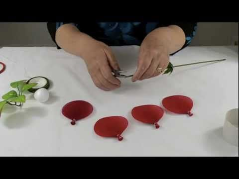 FREE VIDEO TUTORIAL ~ How to Make New Style Rose