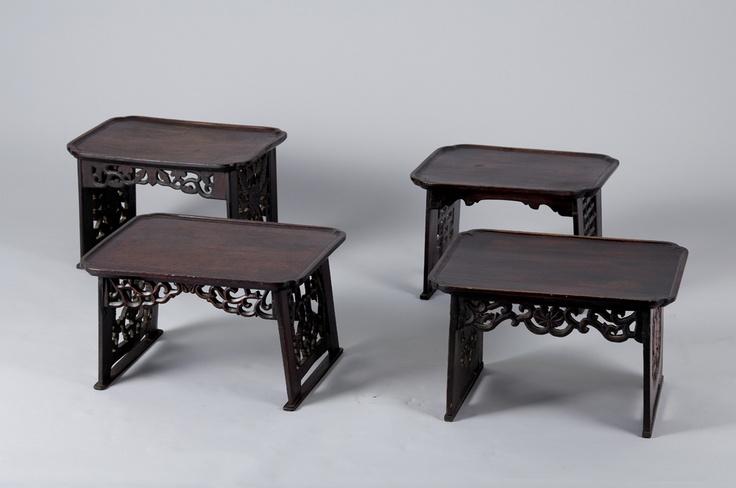 해주반 - Small tea table (Soban) from Haeju, North Korea