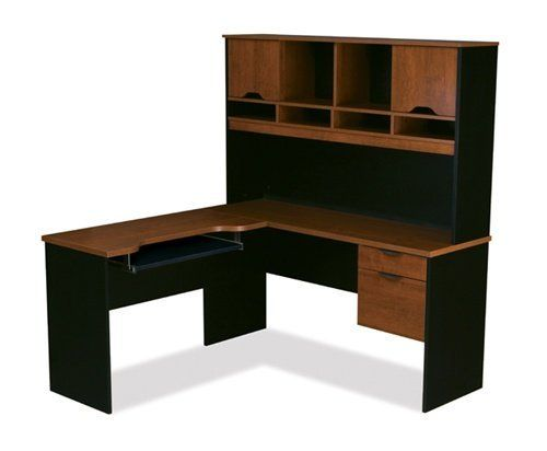 Tuscany Brown & Black L-shaped Corner Computer Desk with Hutch, http://www.amazon.com/dp/B007X5IGTC/ref=cm_sw_r_pi_awdm_LYA3sb0HYVFCW
