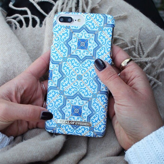 Marrakech by @flarback - Fashion case phone cases iphone inspiration iDeal of Sweden #Mosaic #blue  #fashion #inspo #iphone #pattern #tile #summer #moroccan