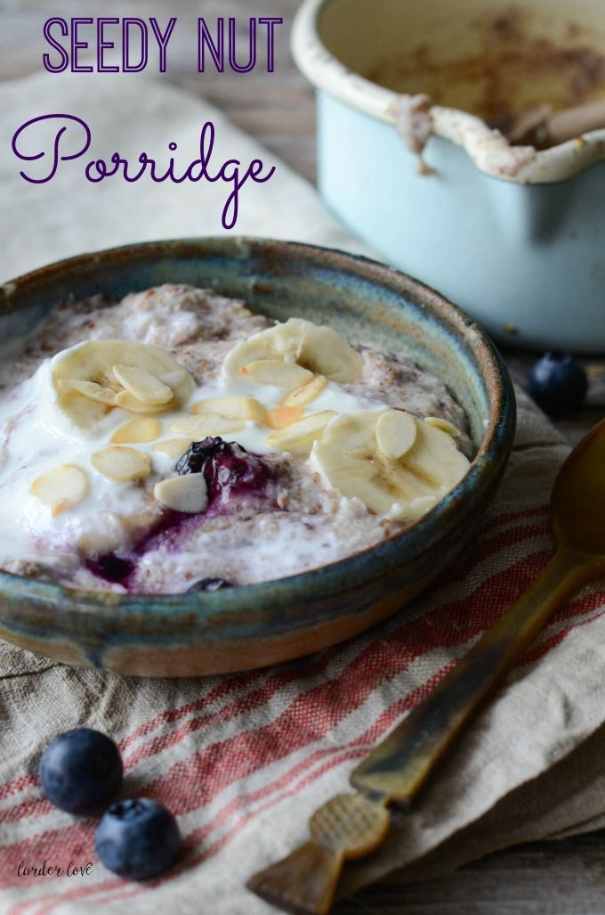 27 best good mood food images on pinterest 3 ingredients easy super easy recipe for seedy nut paleo porridge a great start to the day forumfinder Gallery