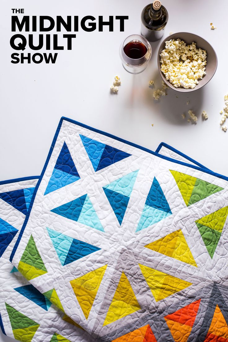 105 best The Midnight Quilt Show images on Pinterest | Stitching ... : youtube quilting ideas - Adamdwight.com