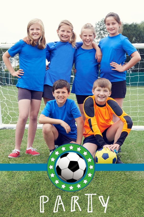 Inspirationen für eine tolle Fußball-Kinderparty gesucht?  Wir stellen viele Ideen für eine fantastische Fußball-Party mit Kindern vor.