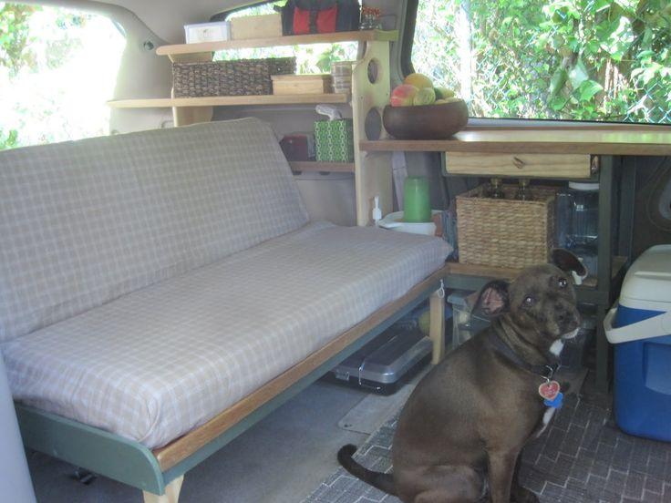 $200 Toyota Sienna camper conversion   Van Camping ...